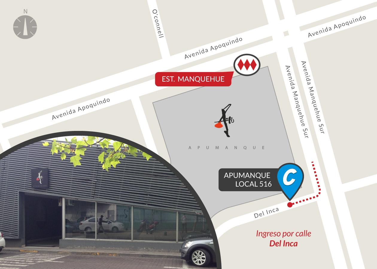 Avda. Manquehue Sur 31, local 516, Las Condes